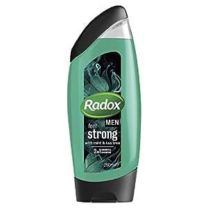 Radox Men Feel Strong Mint & Tea Tree 2in1 Shower Gel 250ml