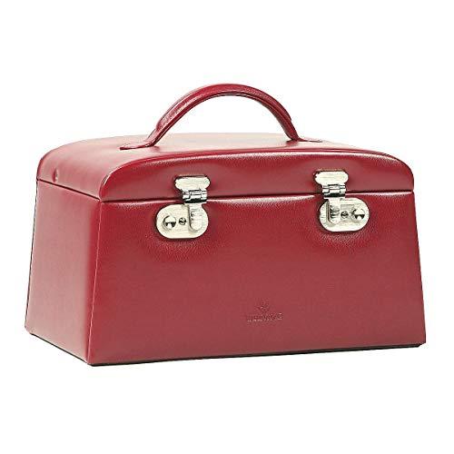 uckkoffer mit 6 Seitenschubladen Rot ()