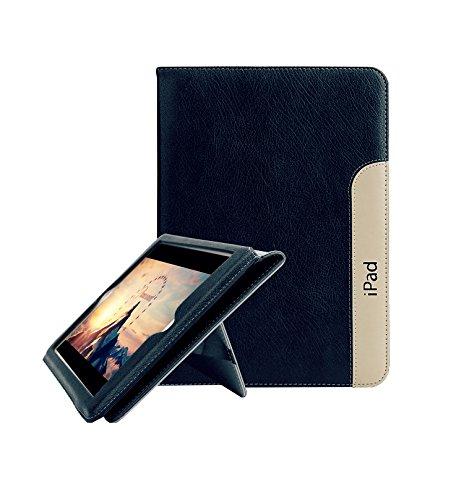 Fan 4 (FAN SONG iPad 2/3 / 4 Schutzhülle Leder Smart [Flip Ständer, Aufwachen/Schlafen Funktion] Tablet Hülle Cover für Apple iPad 2/3/4)