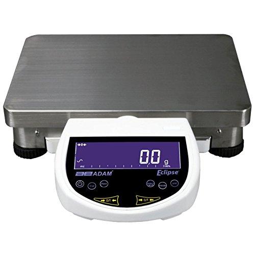 AE Adam EBL 22001e Adam Equipment Präzision Balance mit Touch Kapazität Tastatur, Aluminium, 22000G x 0,1g