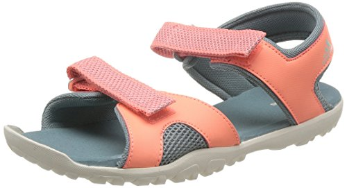 Unisex-Kinder Outdoor Fitnessschuhe, Orange (Green Earth/Chalk White/Sun Glow), 35 EU (12.5 UK) (Glow In The Dark Chalk)