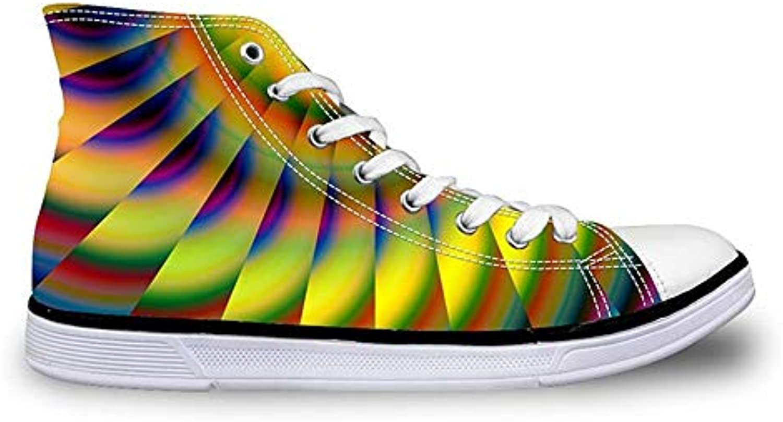 HCBYJ scarpe Scarpe sportive da uomo, scarpe piatte stampate in in in 3D, in pizzo vulcanizzato, per aiutare i ragazzi... | Forte valore  225d85