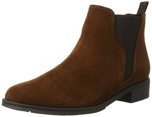 Marco Tozzi Damen 25321 Chelsea Boots, Braun (Cognac), 38 EU