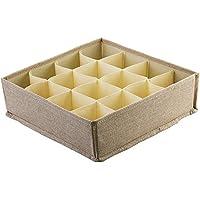 Preisvergleich für Nlj-YMS Baumwolle Unterwäsche Aufbewahrungsbox Faltbare Schublade Aufbewahrungsbox Kleiderschrank Aufbewahrungsbox
