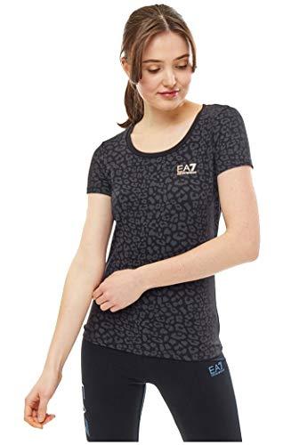 ARMANI EA7 Donna T-Shirt Fancy Black L...