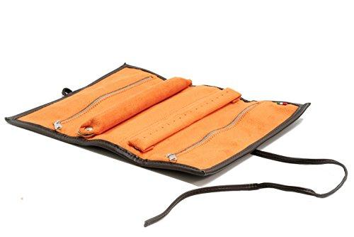 Joyero-enrollable-Massano-1981-en-cuero-ecologico-y-suave-flocade-100-fabricado-a-mano-en-Italia