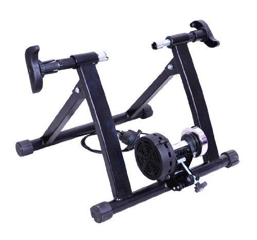 Rullo per bicicletta a magnete, per allenamento in casa, nero - NUOVO