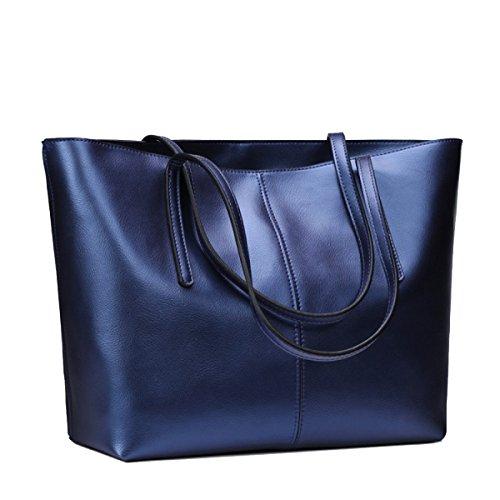Yy.f BIG BAG Nuove Moda Borse In Pelle Borse Moda Selvaggia Il Sacchetto Di Spalla Di Modo Delle Signore Sacchetti Multicolori Blue