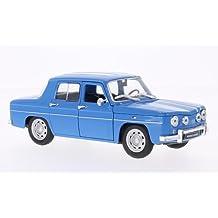 Renault R8 Gordini, azul claro/blanco, Modelo de Auto, modello completo,