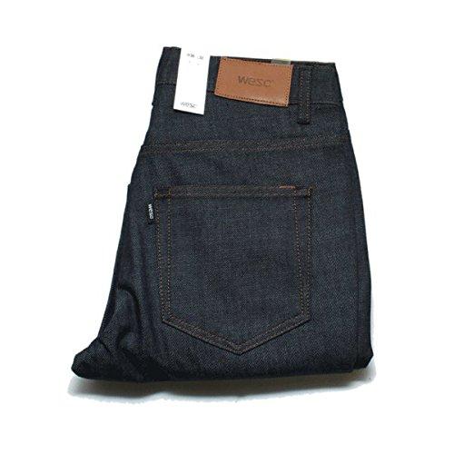 WESC Alessandro Jeans–no Lavado–Denim, Azul