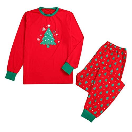 Mutter Und Tochter Kleid Weihnachten Eltern-Kind-Karikatur-Schneeflocke-Oberseite + Hosen-Weihnachtsfamilien-Kleidungs-Pyjamas für Kinder scherzt Dame Mommy Daddy Allence -