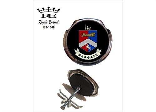 Preisvergleich Produktbild Royale Emaille Royale Car Grill Badge – Margate (Wappen B2. 1348