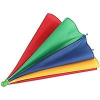 Detectoy Regenschirmhut, beweglicher Fischen kampierender Strand Regenschirm Hut Mehrfarbenkappe Sun Regen Regenschirm nagelneuer heißer