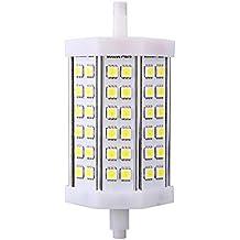 Pixnor R7s 13W AC 100V-240V 36 SMD 5050 LED 1250LM 6000K Natural Blanco LED Foco LED Bombilla luz