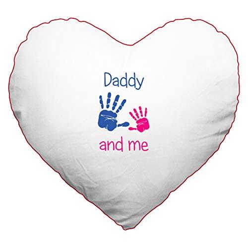 My custom style cuscino c40 poli-cotone rosso#festa del papà daddyme#