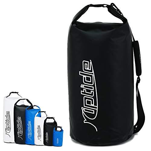 riptide Dry Bag - wasserdichter Packsack mit Umhängegurt | schwarz | 30l