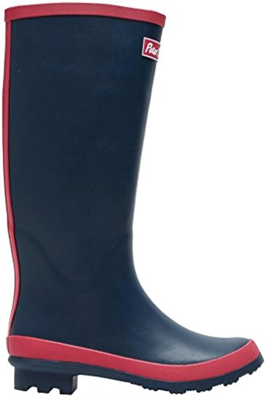 Peter Storm Mujer Trim Wellies Medio Calzado para Exteriores Calzado Azul, Azul, 42