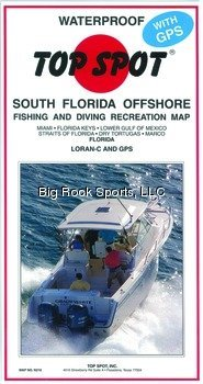Florida Offshore Fishing Map by Top Spot ()