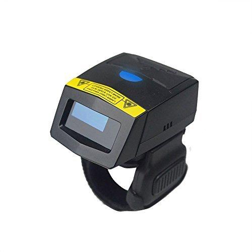 Mobiler Barcode-Scanner 1D Wireless-Ring-Scanner Mini-Klasse 2-Bluetooth-Laser-Auto-Reader mit 10M-Reichweite Support Android iOS für Logistik, Lager, Einzelhandel von Posunitech