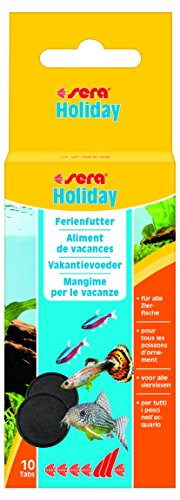 sera 00990 holiday 10 Tabs - die Futtertablette zur Langzeitversorgung im Urlaub (aus 100% Futter)