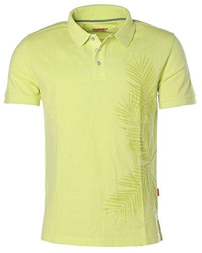 Signum Herren Kurzarm Shirt Poloshirt Polokragen Pikee Lime