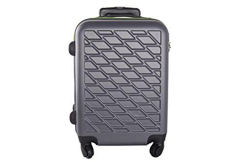 Maleta rígida PIERRE CARDIN gris mini equipaje de mano ryanair VS84