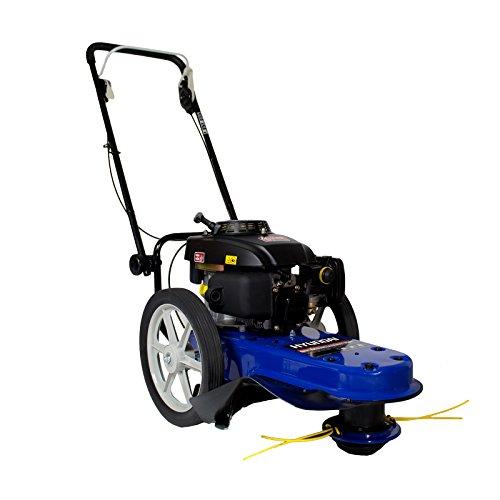 hyundai-hyft56-petrol-push-field-grass-trimmer-strimmer-blue