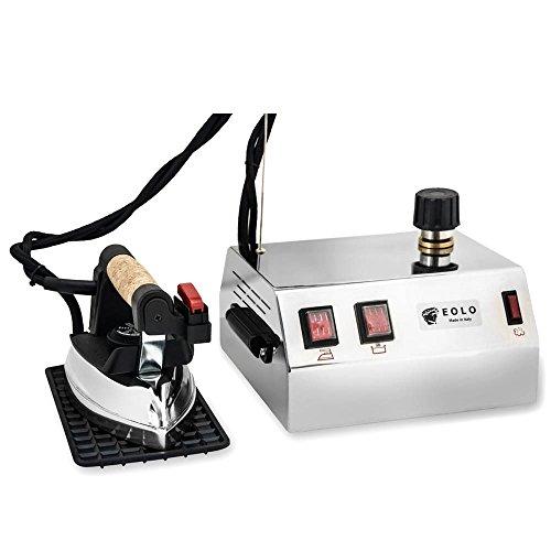 EOLO GVS1 Professionelle Dampfbügelstation mit 3 Bar Tockendampf und 1,2 Liter Behälter