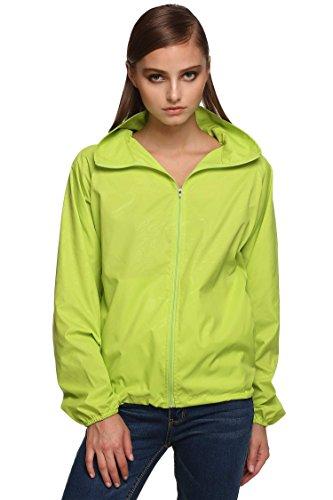 Zeagoo Unisex Outdoorjacke Hoodie Softshell Jacke Sportlich Windjacke Wasserdicht Wasserabweisend
