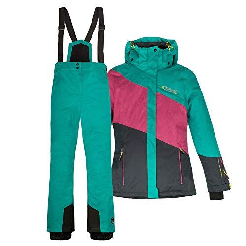 Killtec Skianzug Frauen Damenskianzug Skijacke Acelya + Skihose Hila azurblau Gr. 42