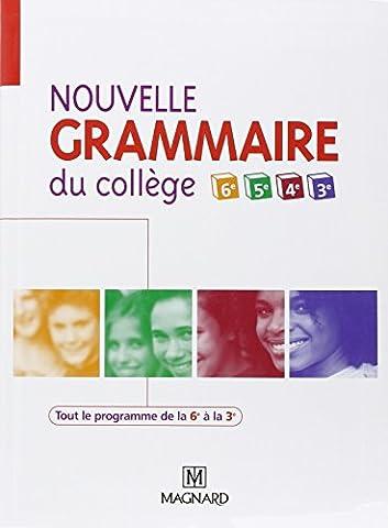 Guillaume Durand - Nouvelle grammaire du collège de la 6e