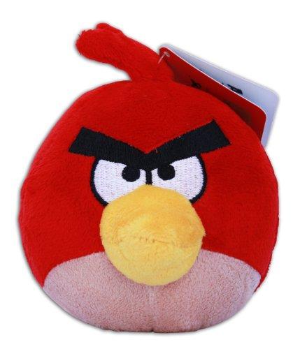Angry Birds - Red Bird Plush - Original Rovio - 10cm 4''