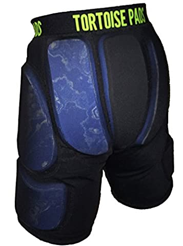 Tortoise Pads Low Profile Impact Protection Shorts with Dual Density EVA Foam – Pad Thickness: 3/8