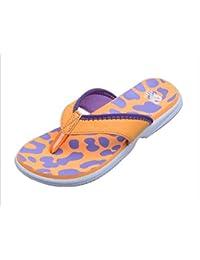 Happy Lily ergonomische Flip-Flops mit rutschfester Sohle, Schuhe in Y-Form für Pool, Zehensandalen, bequem, für Innen- oder Außengebrauch, Hausschuhe für Frauen, kastanienbraun