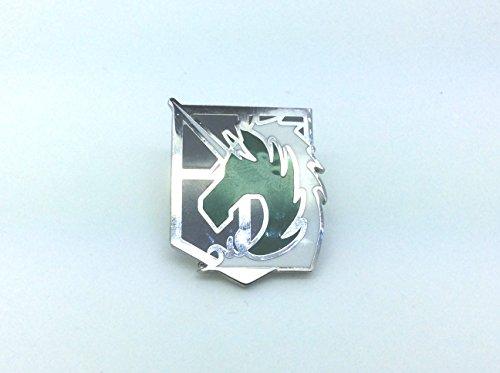 Attack on Titan Shingeki no Kyojin Opération Spéciale de Police Militaire Squad Pin Badge