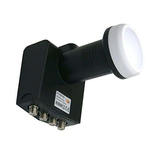 Lnb unicable/scr + 3 uscite singole gt-s3scr4 0.2 db - full hd - 3d