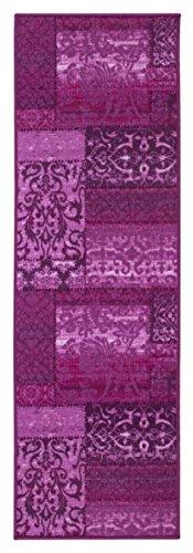 Andiamo 1100365 Läufer Polyamid, violett, 180 x 57 x 0,8 cm