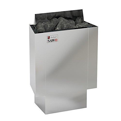 SAWO NORDEX MINI 2,3 kW Elektrische Saunaofen; wird separates Steuergerät benötig (NS-Modell); Multispannung: entweder Einphasig oder 3-Phasig;