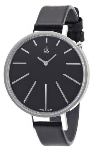 calvin-klein-damen-armbanduhr-equal-analog-quarz-leder-k3e231c1