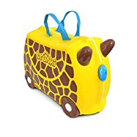 Trunki Gerry the Giraffe Ride and Carry On Suitcase Children