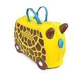 Trunki Trolley Kinderkoffer, Handgepäck für Kinder: Gerry Giraffe (Gelb)