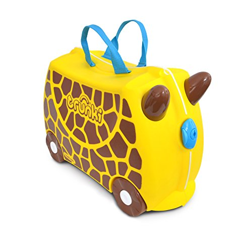Trunki Gerry the Giraffe Ride On and Carry Suitcase...