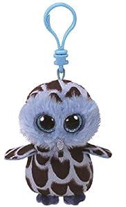 Ty Yago Búho de Juguete Felpa Azul, Marrón - Juguetes de Peluche (Búho de Juguete, Azul, Marrón, Felpa, 3 año(s), Búho, Niño/niña)