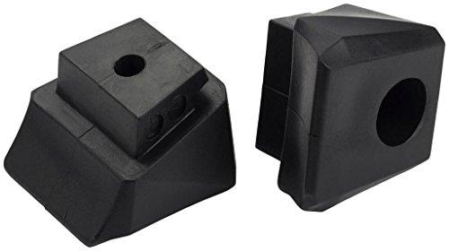 Intersport Roller Frein caoutchouc x100Jr.-Noir Noir 1
