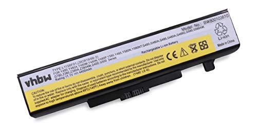 vhbw Li-Ion Akku 4400mAh (11.1V) für Notebook Laptop Lenovo G505, G510, G580, G585, G700, G710, M490s M5400 wie L11S6Y01, L11L6F01, L11M6Y01, L11L6Y01