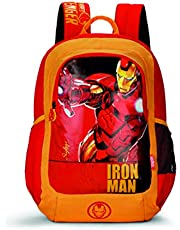 Skybags SBMarvelChamp 07 18 Ltrs Red Casual Backpack  (SBMRC07ERED)