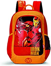 Skybags SB Marvel Champ 07 18 Ltrs Red Casual Backpack  (SBMRC07ERED)