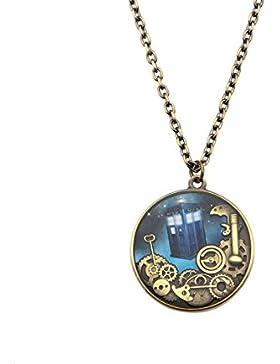 Doctor Who Tardis Acronym Whovian Pendant Necklace