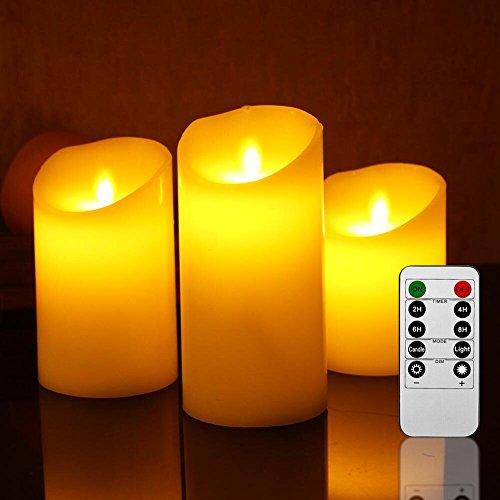 fourHeart Velas de LED, D3.7 x H4.2CM (24pcs) Tealights Luz sin llama sólida, iluminación, Velas Electrónicas Decorativas, para fiestas de Navidad, Boda, Decoración, Festivales día de San Valentín -- [clase de energía A +] [Clase de eficiencia energética A+] (Blanco marfil)