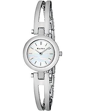 Elixa Damen Armbanduhr BEAUTY Analog Quarz Stahlarmband E019-L060